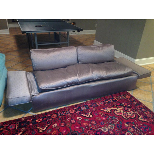 Down Filled Twin Size Sleeper Sofa - Image 2 of 11