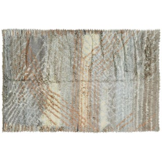 """Nalbandian - Contemporary Egyptian Tulu Rug - 6'5"""" X 9'7"""" For Sale"""