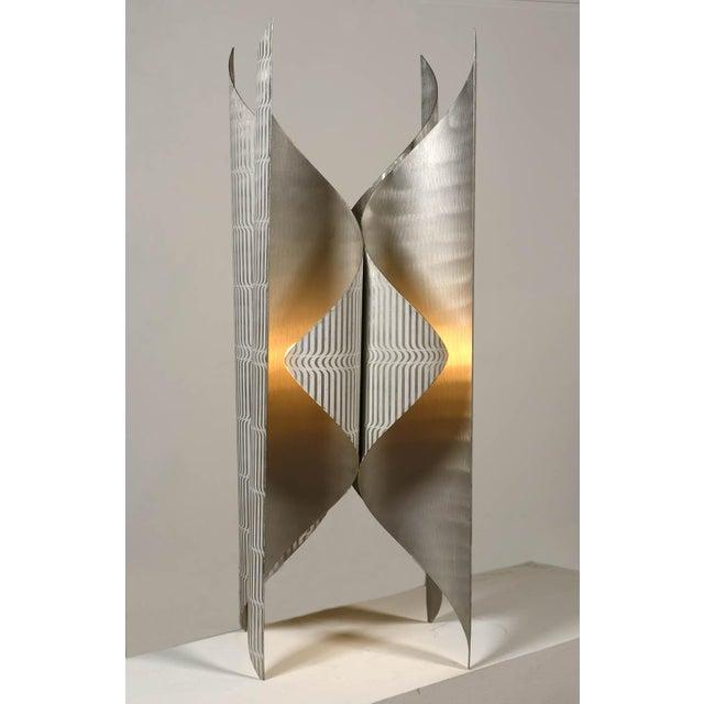 Lorenzo Burchiellaro Printed Aluminium Floor Lamp For Sale - Image 6 of 6