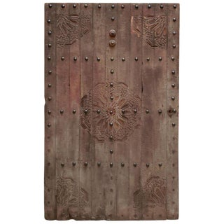 1960s Vintage Moroccan Wooden Door For Sale