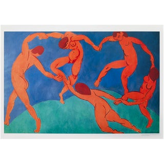 """1994 Henri Matisse """"Dance"""", First Edition Poster For Sale"""