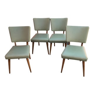 Vintage Meier & Pohlmann Furniture Co Dining Chairs - Set of 4