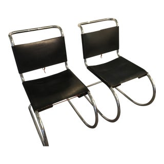 Marcel Breuer Spoleto Style Chairs - A Pair For Sale