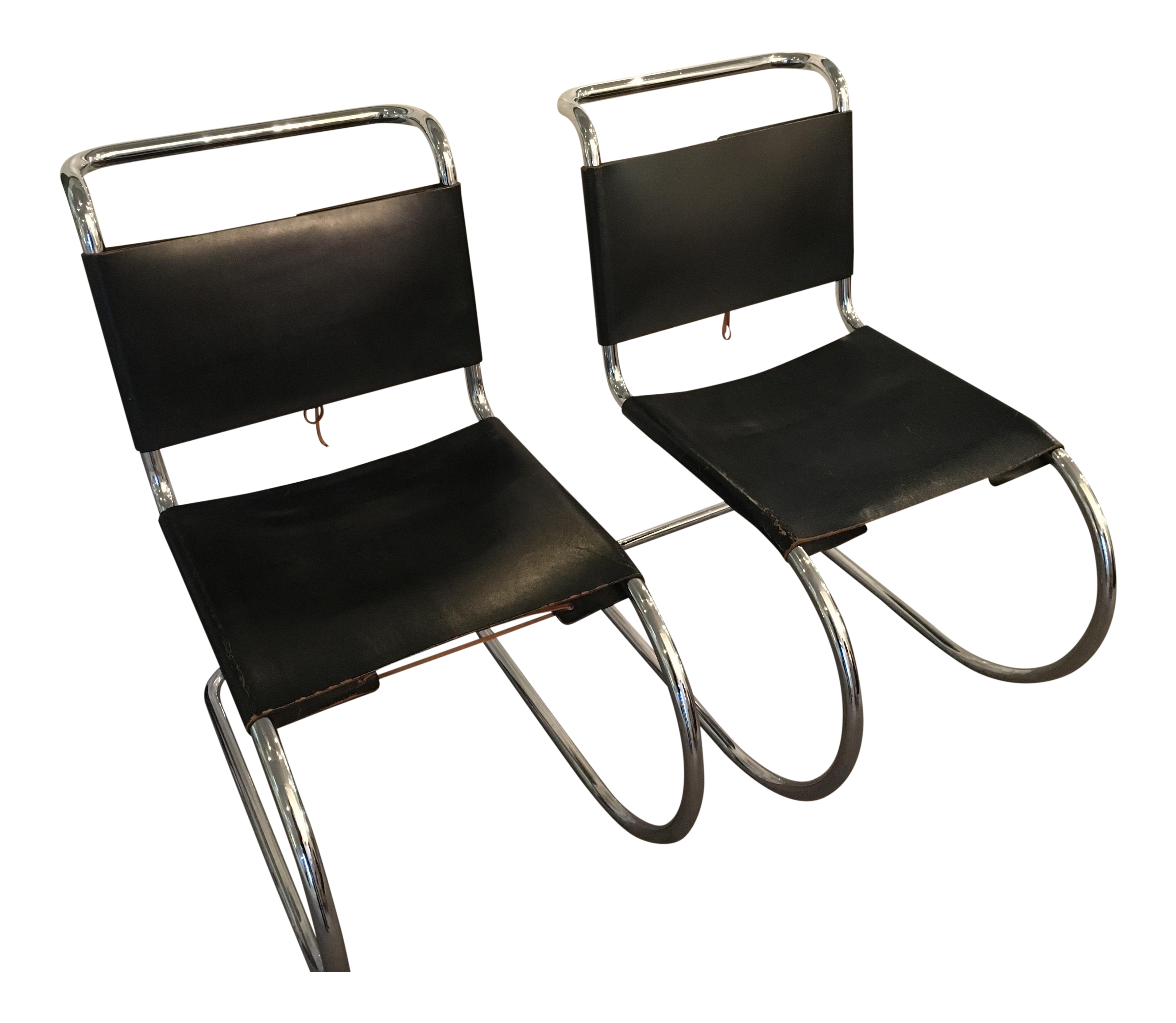 Marcel Breuer Spoleto Style Chairs   A Pair   Image 1 Of 8