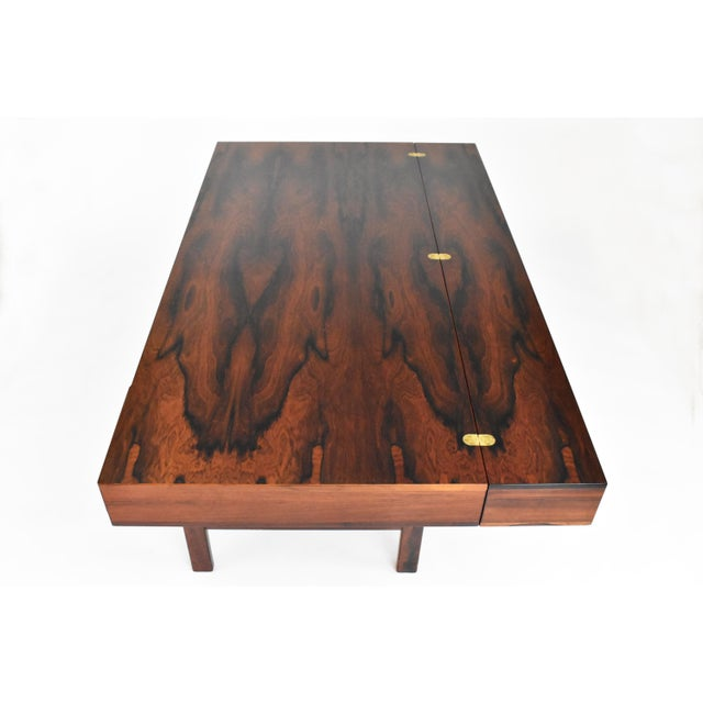 Danish Modern Rosewood Desk by Peter Løvig Nielsen for Dansk - Image 9 of 11
