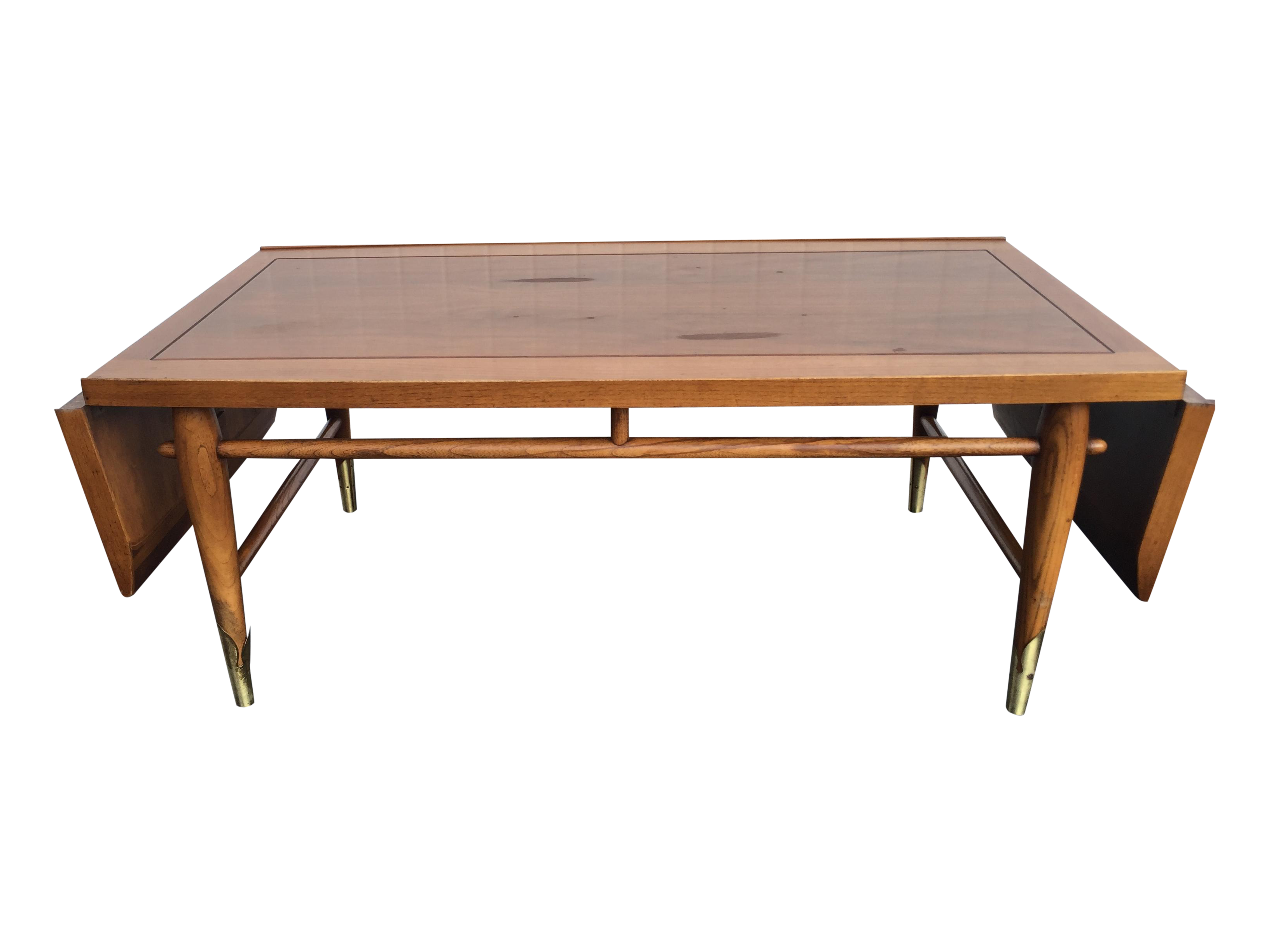 Mid Century Lane Copenhagen Drop Leaf Coffee Table