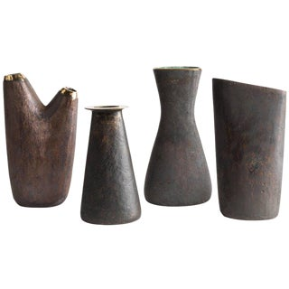 Carl Auböck Brass Vases - Set of 4
