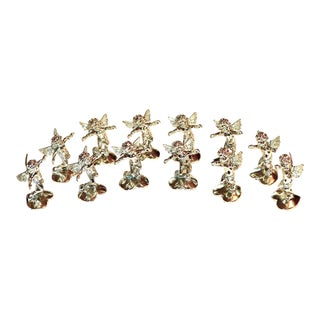 Vintage Neiman Marcus Cupids Place Card Holders - S/12