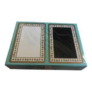 Tiffany & Co Metallic Playing Cards For Sale