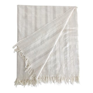 Mali Handwoven Textile Throw For Sale