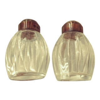 Vintage Sterling Salt and Pepper Set by Christofle of France For Sale