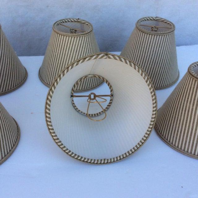 Custom Chandelier Bulb Shades - Set of 6 For Sale - Image 5 of 8
