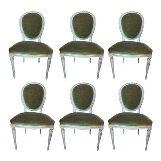 Set of Six Louis XVI Dining Chairs