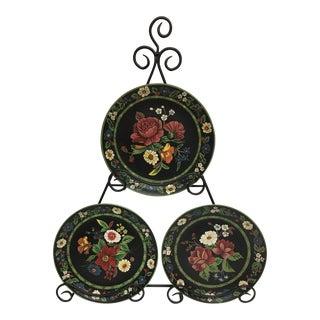 Andrea by Sadek Vera Bradley Display Plates - Set of 3