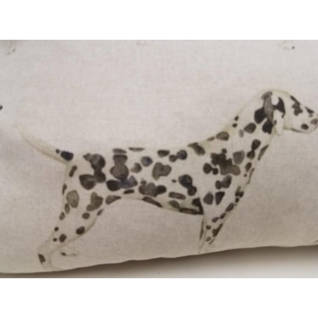 2010s Dalmations Bolster Pillow For Sale - Image 5 of 9