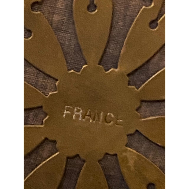 Wood 19th Century French Black Gilded Clock For Sale - Image 7 of 9