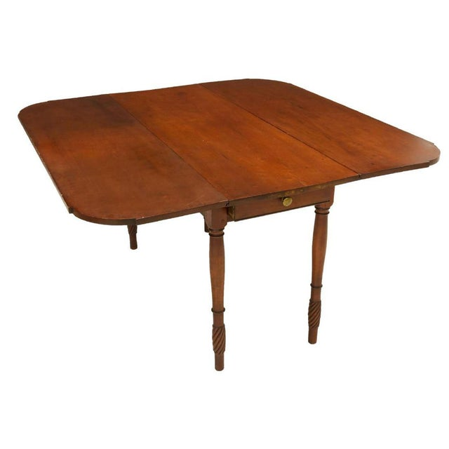 American Classic American Kentucky Cherrywood Pembroke Drop-Leaf Table For Sale - Image 3 of 6