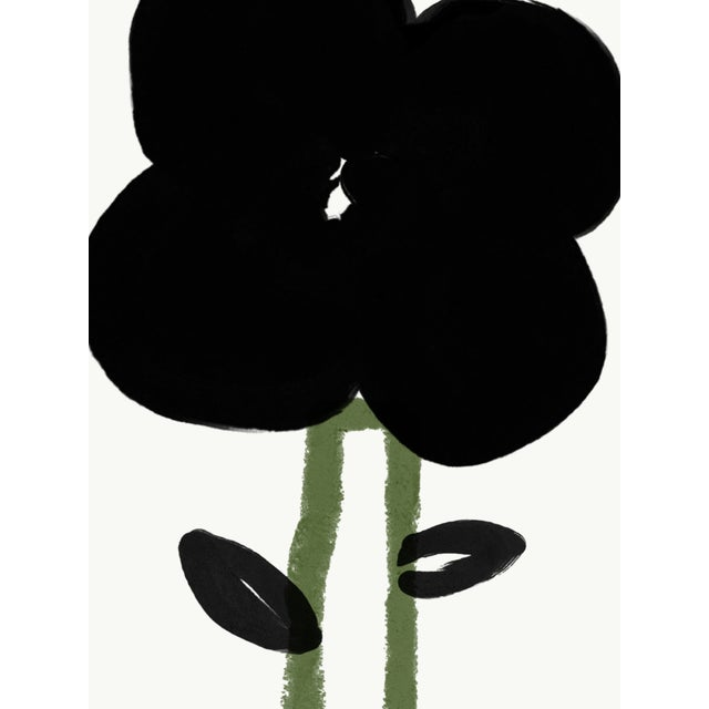 """Annie Naranian """"A Single Flower"""" Limited Edition Print by Annie Naranian For Sale - Image 4 of 5"""