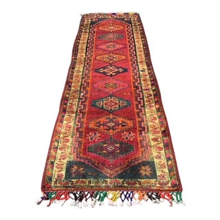 1930s Turkish Herki Runner-3′3″ × 10′5″ For Sale