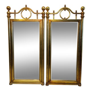 Mid-Century Hollywood Regency Mirrors - a Pair For Sale