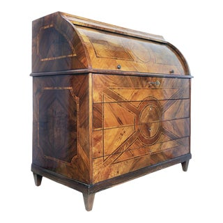 Late 18th Century Cilinder Bureau or Chest of Drawers For Sale