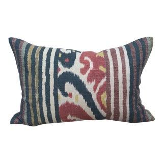 Pierre Frey Ikat Caracas Pillow For Sale