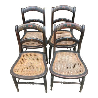 Victorian Stenciled Chairs - Detroit Chair Factory (Set of 4)