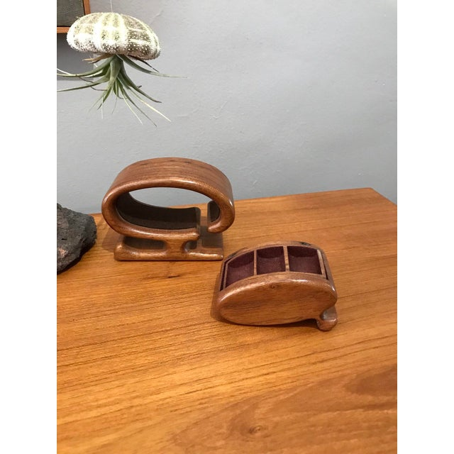 Mid-Century Modern Early Richard Rothbard Puzzle Ring Box For Sale - Image 3 of 6