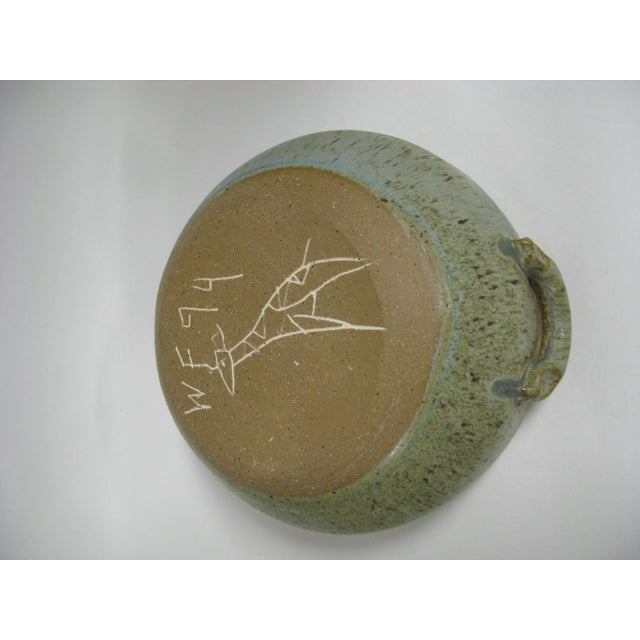 1970s Mid Century Modern Studio Pottery Bowl For Sale In Charleston - Image 6 of 13
