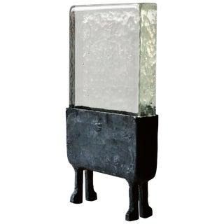 Cast Glass Luminaire N.1, JM Szymanski For Sale