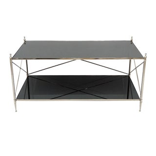 Wade Mirrored Top Coffee Table For Sale