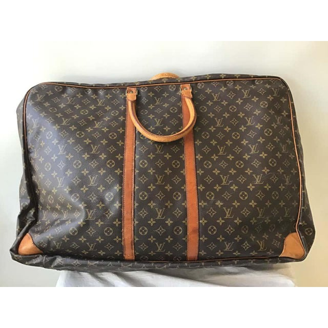 1980s Louis Vuitton Soft Suitcase For Sale - Image 11 of 13