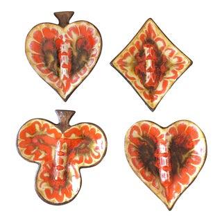 Treasure Craft Ashtrays - Set of 4 For Sale