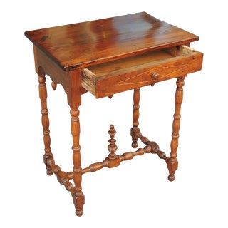 Late 18th C French Provincial Work Table For Sale