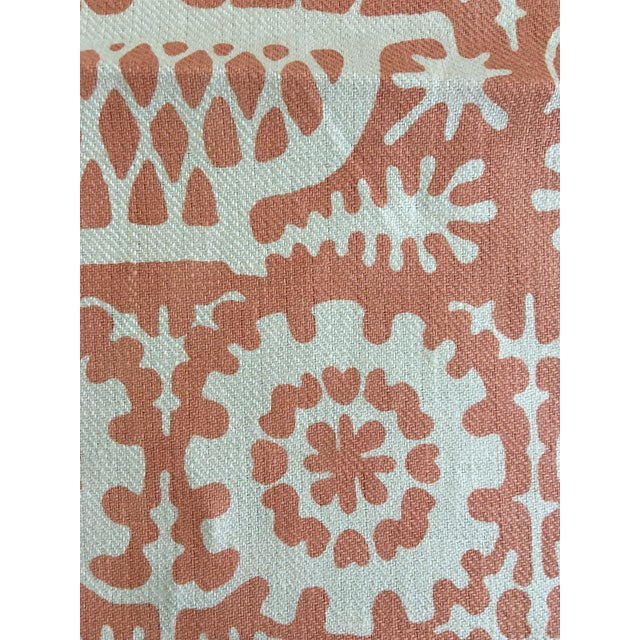 Elizabeth Eakins Sanchi Fabric - 2 Yards For Sale - Image 4 of 4