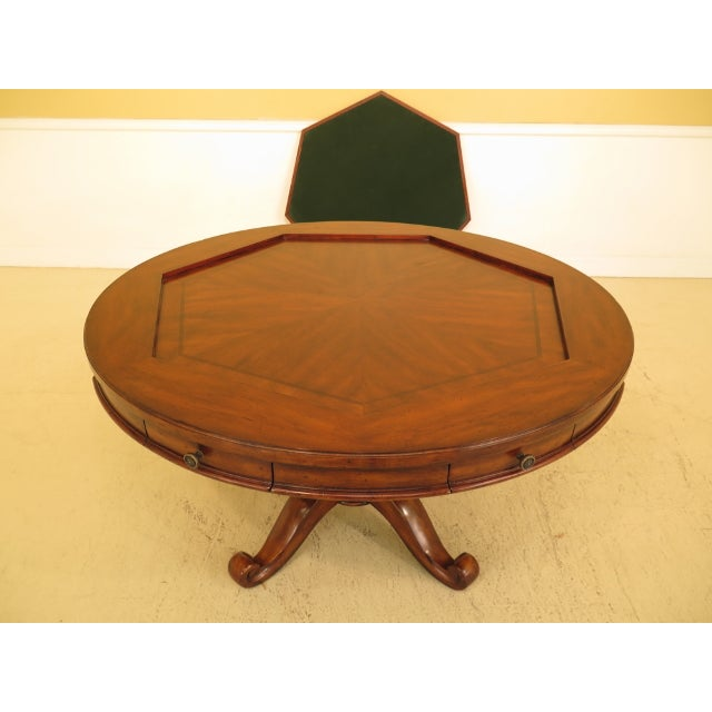 2000s Artistica Round Card Poker Games Table For Sale - Image 5 of 13