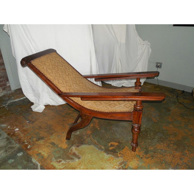 Antique Anglo-Indian Plantation Chair For Sale - Image 5 of 11