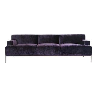 Modern Purple Stiletto Sofa For Sale