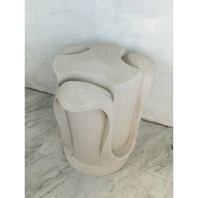 White Betty Cobonpue Pedestal For Sale - Image 8 of 10
