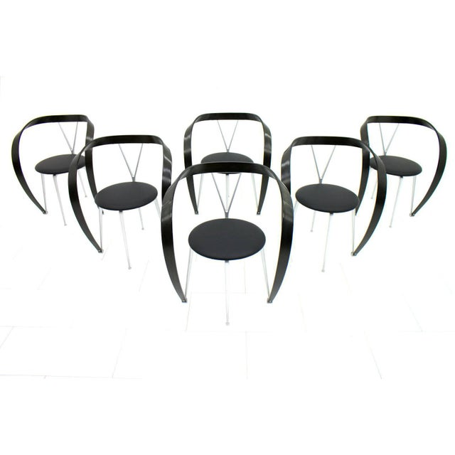 Set of Six Revers Chairs, Andrea Branzi for Cassina, 1993 For Sale - Image 10 of 10