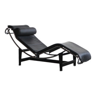 1920s Vintage Le Corbusier Lc4 Style Lounge Chair For Sale