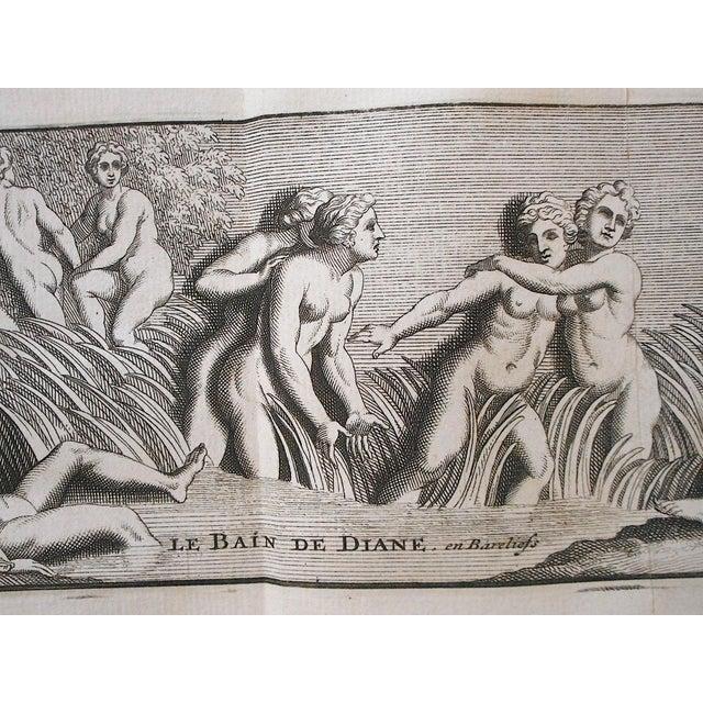 Realism Antique 19th C. Engravings-Sculpture of Herculaneum & Pompeii For Sale - Image 3 of 6