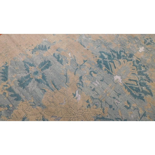 Erased Hand-Knotted Luxury Rug - 8′ × 10′ - Image 5 of 8