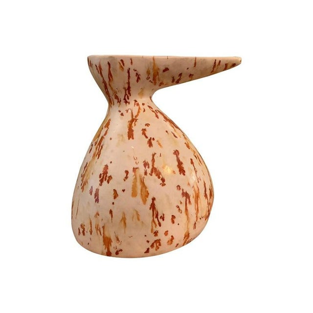 Ceramic 1960s Mid-Century Modern Art Pottery Decanter Vase For Sale - Image 7 of 7