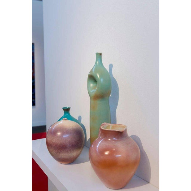 Four ceramics by Suzanne Ramie, Madoura studio. Priced and sold individually. Sizes and pricing varies.