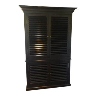 Black Noir Armoire For Sale