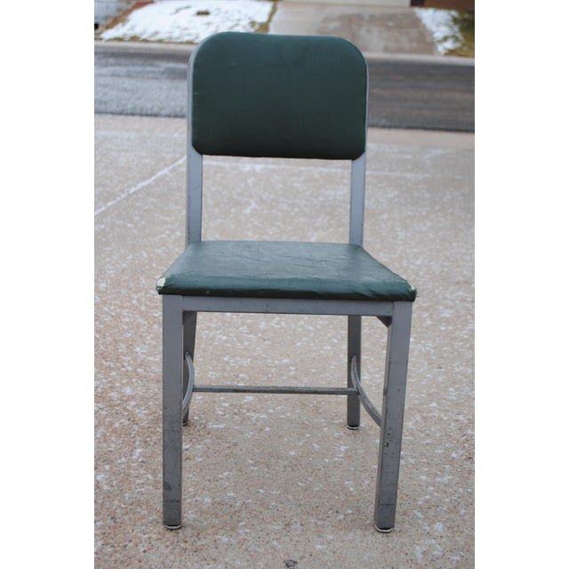 Industrial Mid-Century Industrial Tanker Desk Chair For Sale - Image 3 of 9