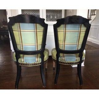 Antique Empire Style Accent Desk Chair Preview