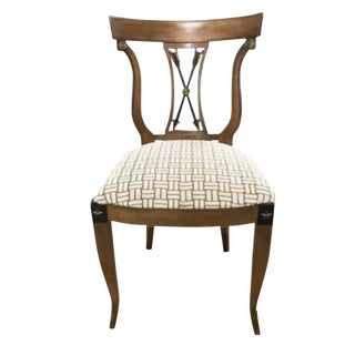 Vintage Neoclassical Side Chair For Sale