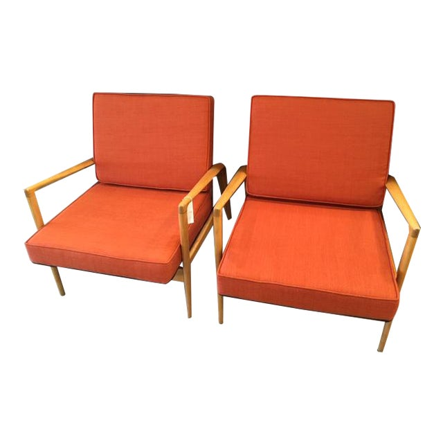 Pair Mid Century Chairs For Sale